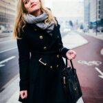 siyah palto modeli