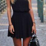 siyah mezuniyet elbisesi