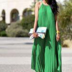 klasik uzun elbise modeli