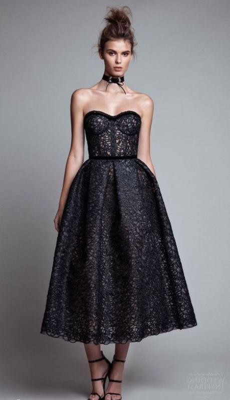 straplez model mezuniyet elbisesi