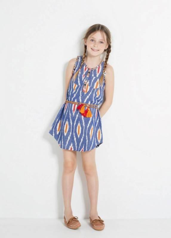 mango yaz elbise modeli