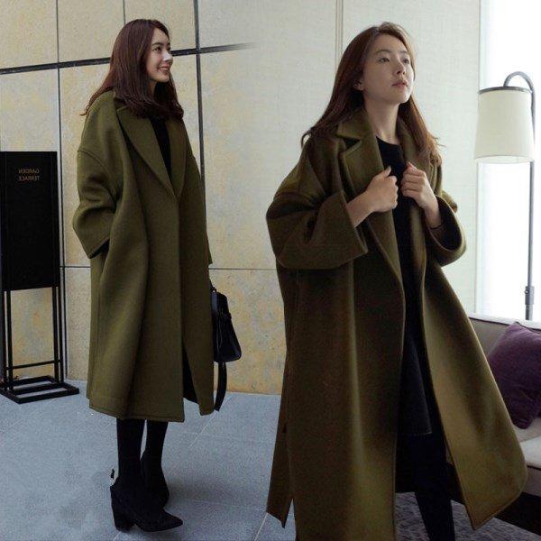 Oversized palto modeli