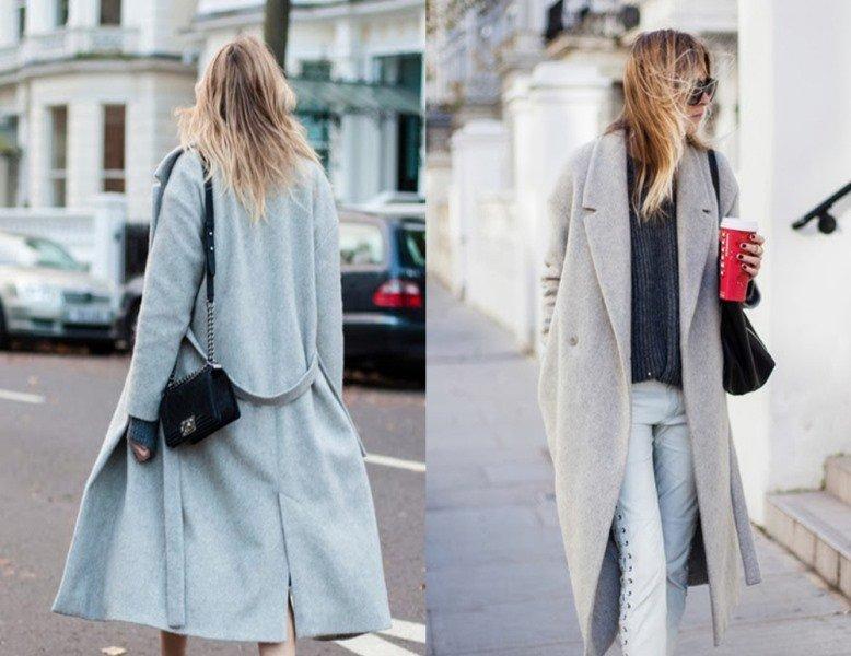 en trend Oversized palto modelleri