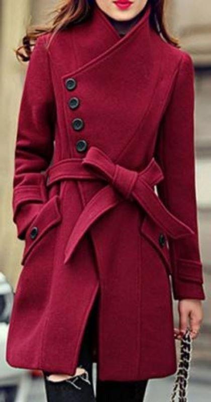 renkli palto modelleri