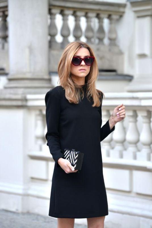 siyah elbise modeli