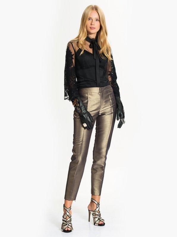 parlak pantolon modeli