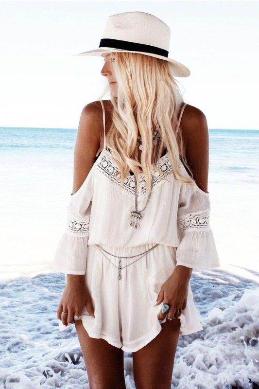 en tarz plaj elbisesi ve plaj tulumu modelleri